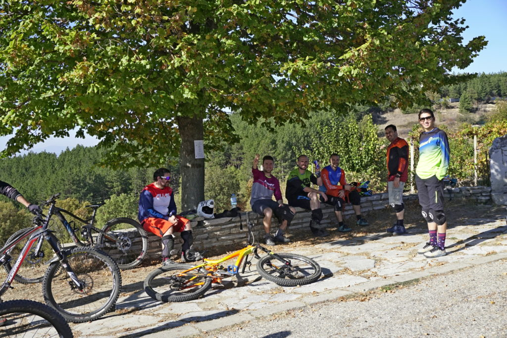 Blago Enduro trails rest