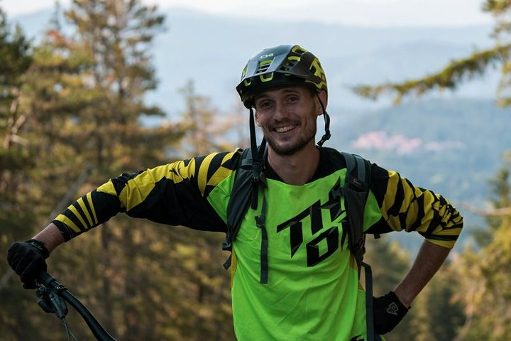 Mountain biking guide, skills instructor and aspiring trail builder.